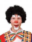 Svart Clownperuk Vuxen