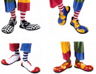 Lyxiga clownskor för vuxna