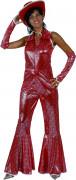 Röd disco - utklädnad vuxen