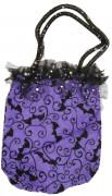 Handväska i lila till Halloween