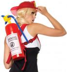 Uppblåsbar brandsläckare - Accessoar till temafesten