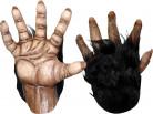 Gorillahänder Vuxen Bruna