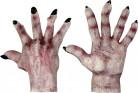 Monsterhänder med svarta naglar Vuxen Halloween