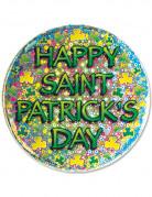 Badge med Happy Saint-Patrick's Day