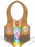 Hippieförkläde i plast dam