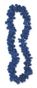 Blått Hawaiihalsband 101 cm
