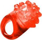 Röd magisk ring med LED