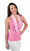 Elegant vitt Hawaii halsband