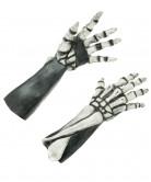 Handskar  Skelett  vuxen Halloween