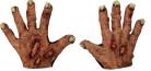 Zombiehänder vuxen Halloween