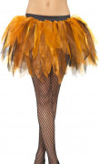 Tutu i oranget och svart - Maskeradtillbehör