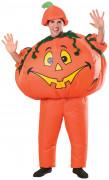Maskeraddräkt uppblåsbar pumpa vuxen Halloween