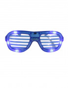 Blåa LED glasögon