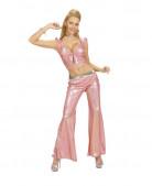 Rosa glitter top för en riktig 2000-tals diva