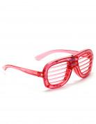 Röda LED glasögon
