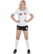 Maskeraddräkt fotbollsspelare Tyskland dam