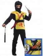 Gåvoset med ninjatillbehör för barn