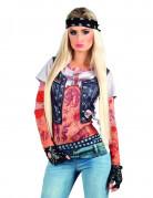 Den tatuerade rockbruden t-shirt - Maskeraddräkt för vuxna