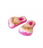 Uppblåsbara Rosa Flip-flops Vuxen