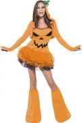 Sexig pumpa - Utklädnad för vuxen till Halloween