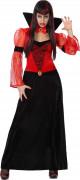 Vampyrgrevinna - Maskeraddräkt för vuxna till Halloween