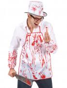 Blodigt förkläde vuxen Halloween