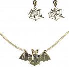 Häxa smyckesset vuxen Halloween