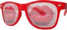 Glasögon Party Red Lips