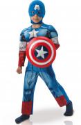 Lyxig Captain America™ dräkt frånAvengers för barn