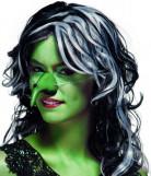 Häxnäsa grön vuxen Halloween