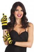 Korta bi handskar för vuxna