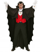 Svart vampyrmantel 150 cm Halloween
