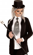 Slips med dödskallar Halloween vuxen