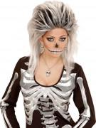 Halsband silver dödskalle Halloween