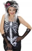 Spetshandskar med skelettdetalj