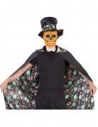 Vändbar slängkappa vuxen Día de los muertos Halloween