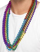 6 färggranna halsband