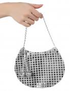 Handväska  Disco  silver