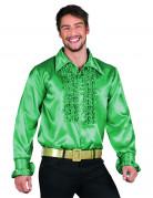 Groovy grön - Discoskjorta för vuxna