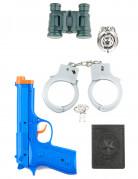 Kit för poliser - Tillbehör i plast för barn