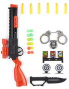 Polis Leksaksvapen i plast
