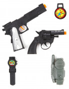 Leksaks militärkit i plast för barn