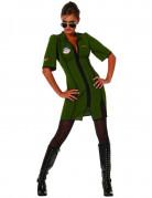 Stridspilot - utklädnad kvinna