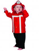 Röda Brandmansdräkt bebis