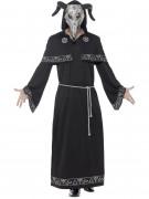 Svart magi mästare - utklädnad vuxen Halloween