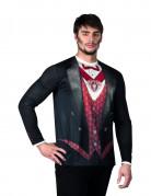 Vampyr t-skjorta vuxen Halloween