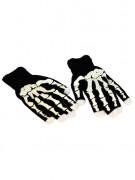 LED skelett handskar vuxen