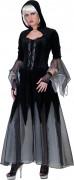 Goth vampyr - utklädnad vuxen Halloween