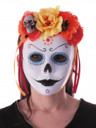 Day of the dead  Diadem  med blommor