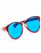 Röda jätteglasögon för vuxna